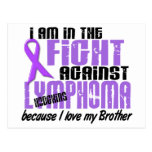 En la lucha contra el linfoma Brother de Hodgkin Tarjetas Postales