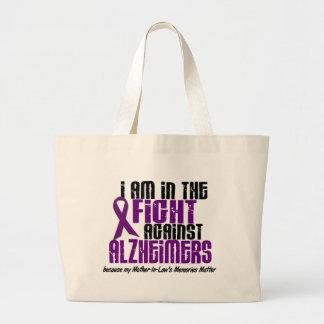 En la lucha contra la enfermedad de Alzheimer Bolsa Tela Grande