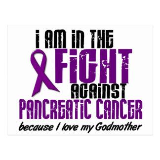 En la lucha contra MADRINA del cáncer pancreático Tarjetas Postales
