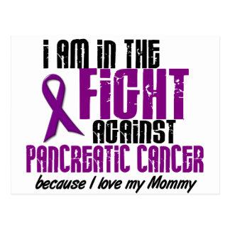 En la lucha contra MAMÁ del cáncer pancreático Tarjeta Postal