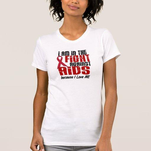 En la lucha contra SIDA Tee Shirts