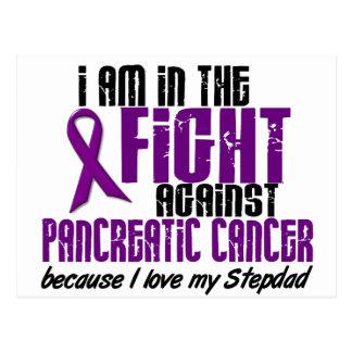 En la lucha contra STEPDAD del cáncer pancreático Tarjeta Postal