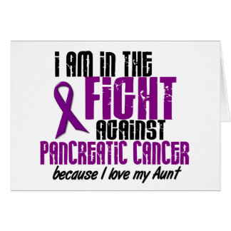 En la lucha contra TÍA del cáncer pancreático Felicitación