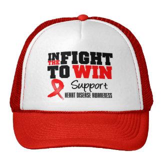 En la lucha para la enfermedad cardíaca de la cura gorra