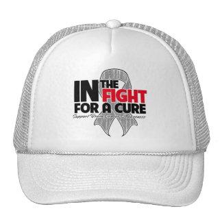 En la lucha para una curación - cáncer de cerebro gorras de camionero