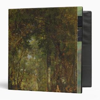 "En la madera en Fontainebleau Carpeta 1 1/2"""