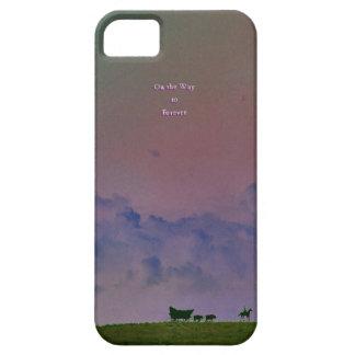 En la manera a para siempre iPhone 5 fundas