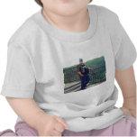 En la memoria cariñosa del papá camiseta