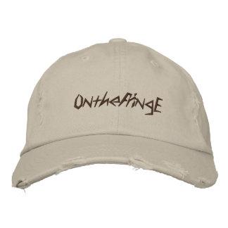 En la mercancía oficial de la franja gorras bordadas