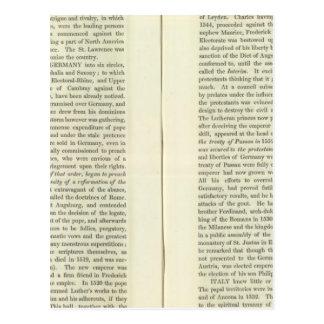 En la muerte de Charles V 1551 Postales