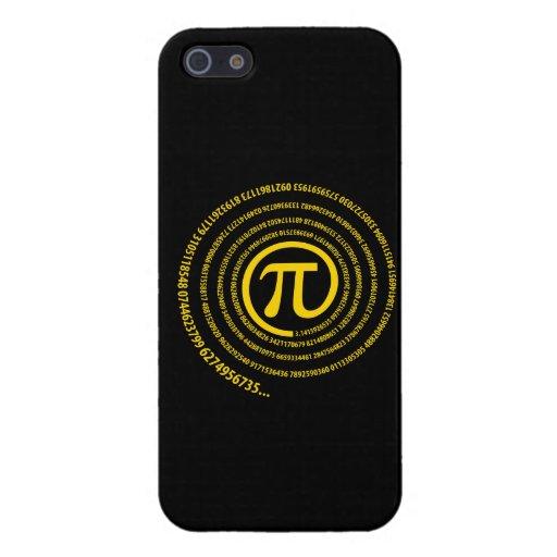 En la muestra del pi, versión espiral iPhone 5 carcasas