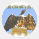 En la nación bajo pegatina de dios