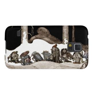 En la noche de navidad Tomte-Nisse Carcasas Para Galaxy S5