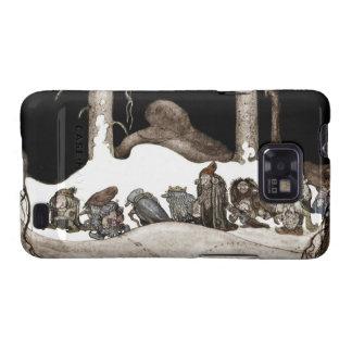 En la noche de navidad Tomte-Nisse Samsung Galaxy SII Carcasa