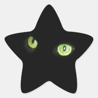 En la noche calcomanías forma de estrellas