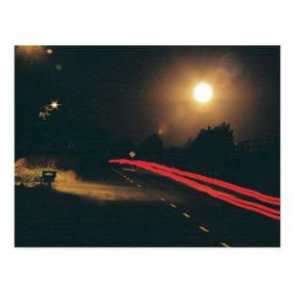 En la noche tarjeta postal