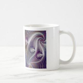 En la noche tazas de café