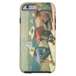 En la playa, 1875 (w/c) funda de iPhone 6 tough