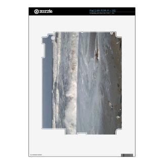 En la playa calcomanía para el iPad 2