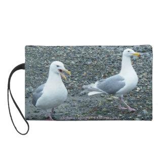 En la playa con el bolso de las Gaviotas-Bagettes