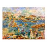 En la playa de Guernesey de Pedro Renoir Postales