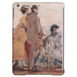 En la playa en Trouville, c.1865