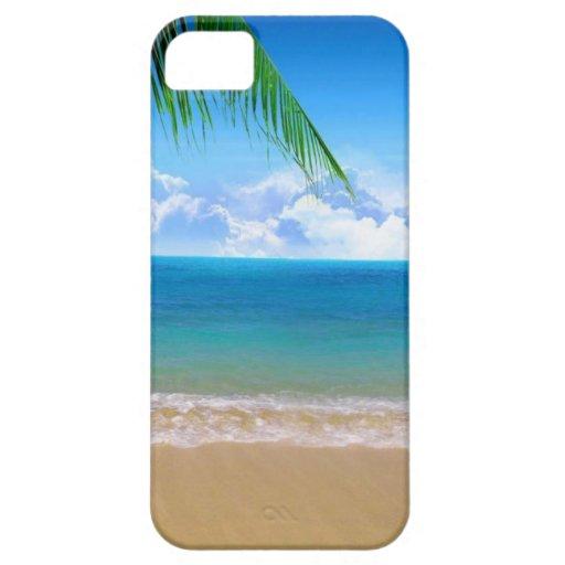 en la playa iPhone 5 Case-Mate cobertura