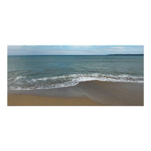 En la playa lona personalizada