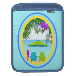 En la playa mangas de iPad