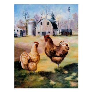 En la postal de la granja