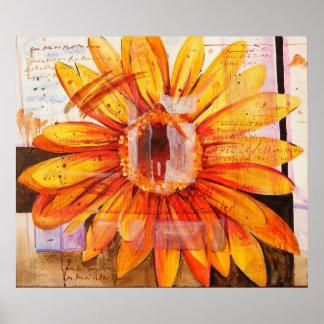 En la primavera pasada la pintura del autor impresiones