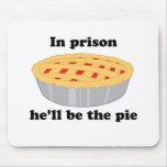 En la prisión él será la empanada tapete de raton