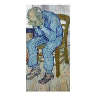 En la puerta de la eternidad de Vincent van Gogh Tarjeta Fotográfica