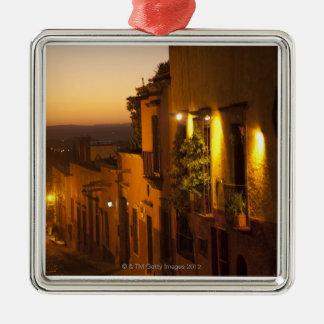 En la puesta del sol ornaments para arbol de navidad