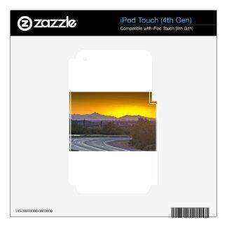 En la puesta del sol iPod touch 4G skins