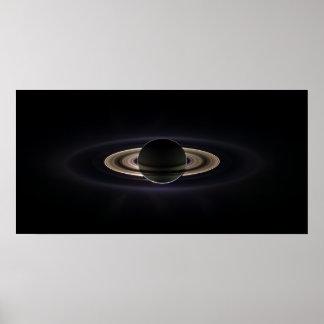 En la sombra de Saturn Póster