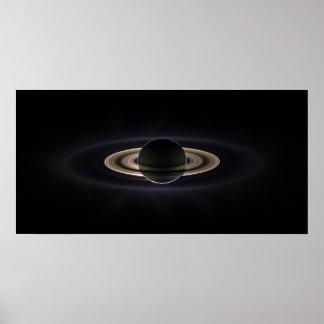 En la sombra de Saturn Poster