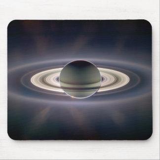 En la sombra Mousepad de Saturn Alfombrillas De Ratón