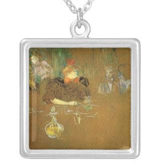 En la tabla por Toulouse-Lautrec Joyería