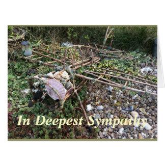 En la tarjeta de condolencia más profunda (tarjeta