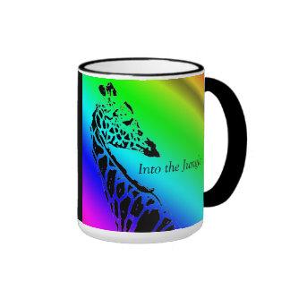 En la taza de café del ~ de la selva (jirafa)