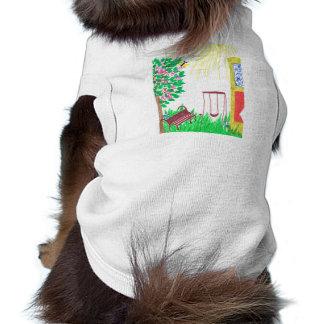 en la yarda ropa de perros