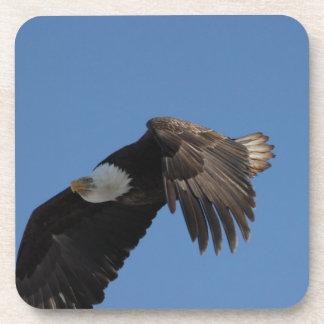 En las alas de Eagle Posavasos De Bebidas