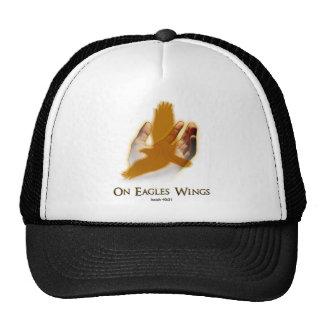 En las alas de Eagles Gorras