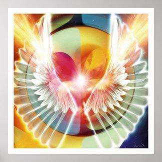 En las alas de la luz póster