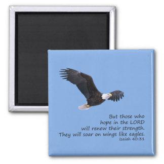 En las alas tenga gusto del imán de Eagles