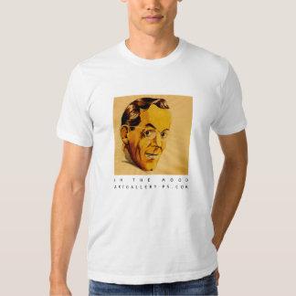 En las camisetas del humor polera