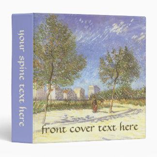 """En las cercanías de París de Vincent van Gogh Carpeta 1 1/2"""""""