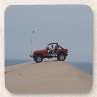 En las dunas posavasos de bebida