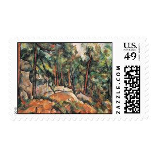 En las maderas de Paul Cézanne (la mejor calidad) Franqueo